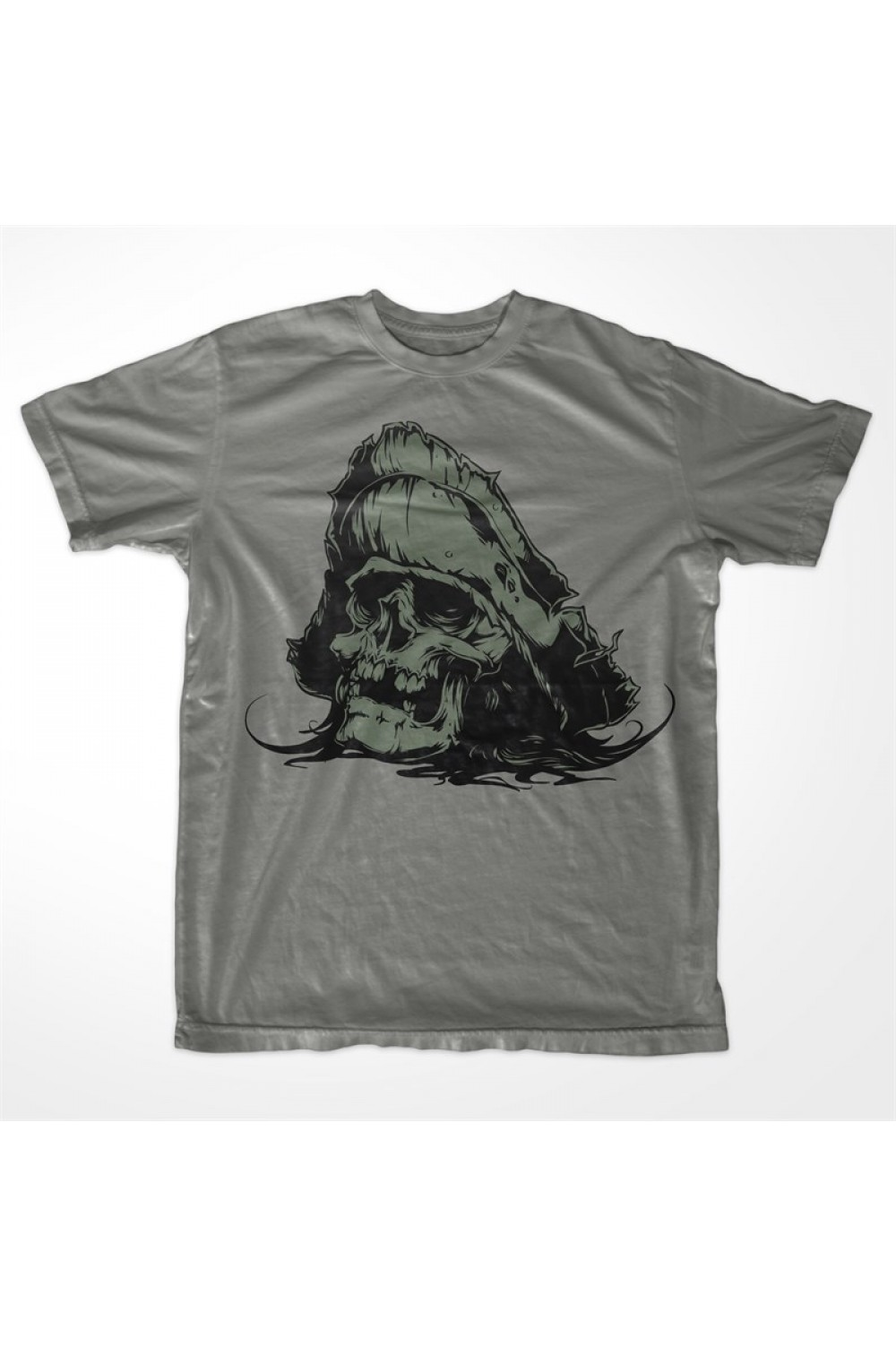 Pirate Skull Men Printed T shirt 4004
